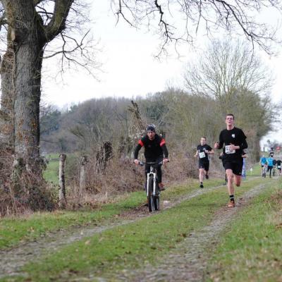2ème Run & Bike de l'hermeton à Romedenne le 17/02/2018